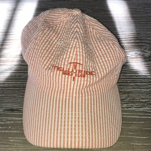 Telluride Ski & Golf searsucker hat